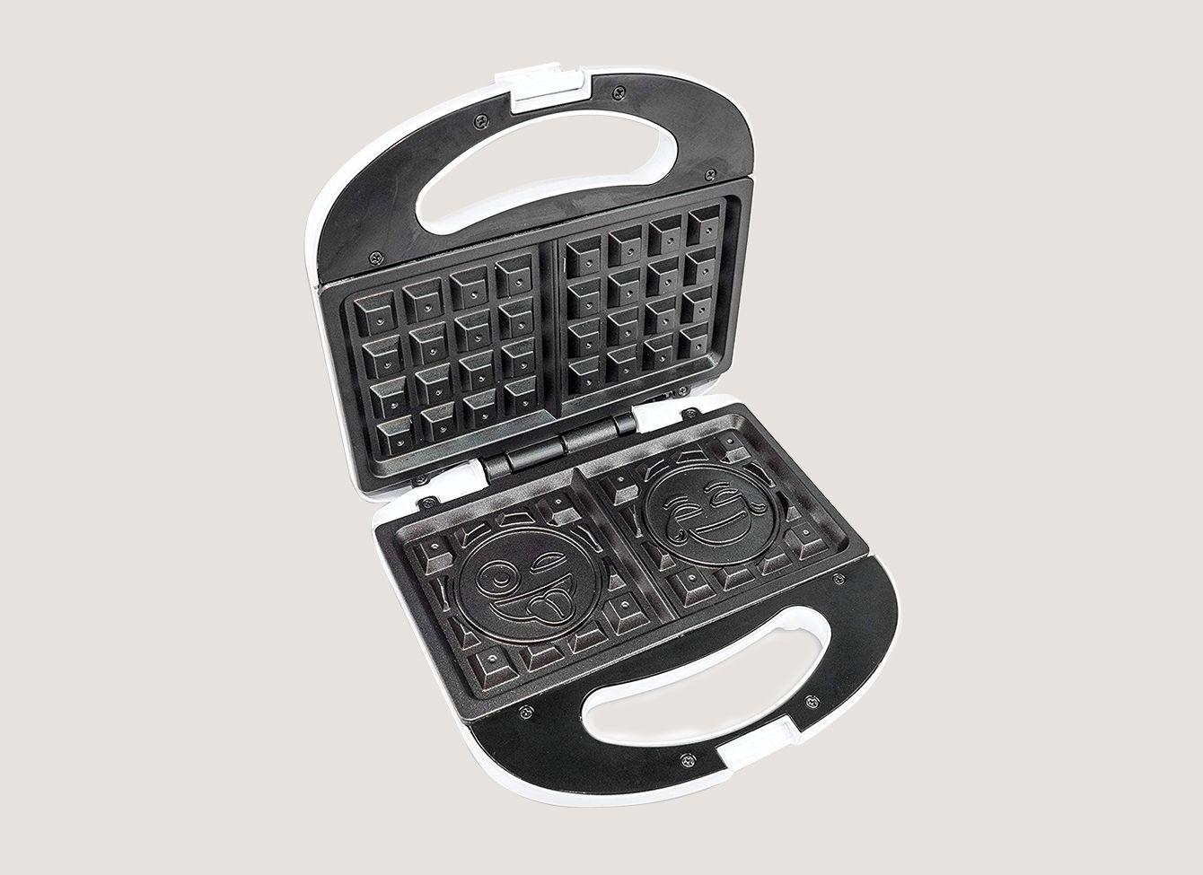 Emoji Universe 2 Slice Emoji Waffle Maker
