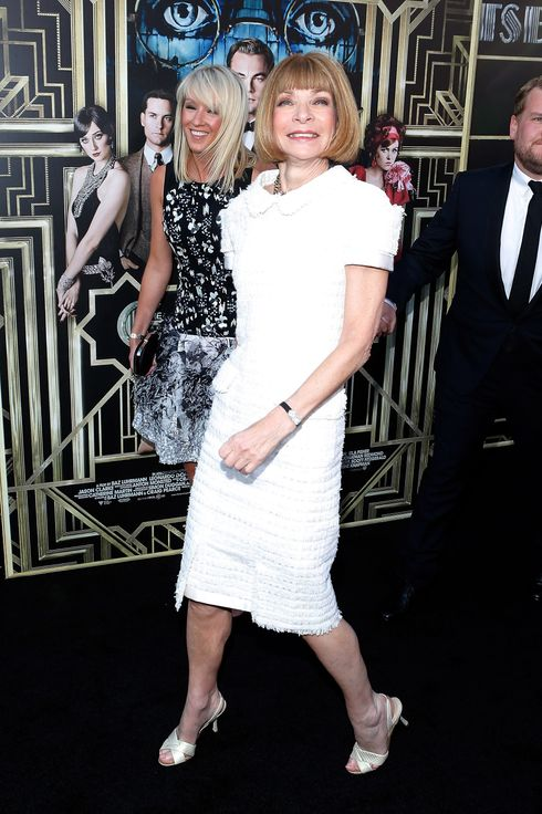 "Vogue Magazine Editor and Cheif Anna Wintour attends the ""The Great Gatsby"" world premiere at Avery Fisher Hall at Lincoln Center for the Performing Arts on May 1, 2013 in New York City."