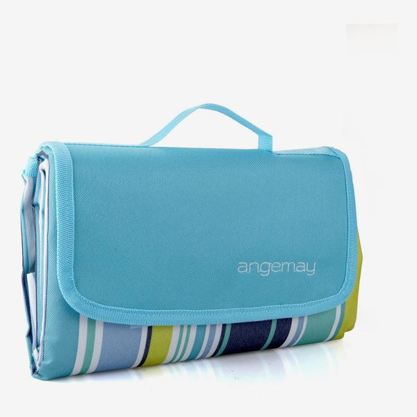 Angemay Waterproof Portable Beach Mat Picnic Blanket
