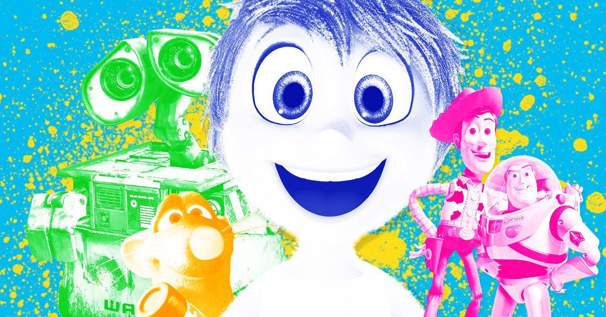 The Best Pixar Movies Ranked