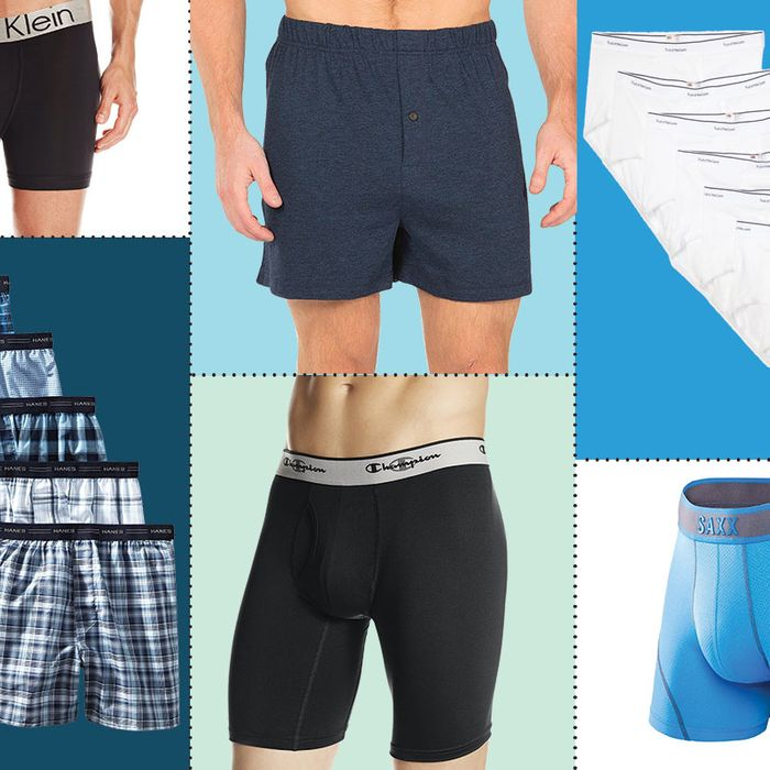 Best men's underwear: boxers, briefs, boxer briefs, and thongs.