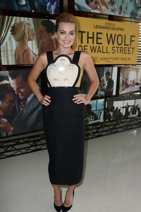 "Actress Margot Robbie attends an Australians In Film Screening Of ""The Wolf Of Wall Street"" at Landmark Theatre  on January 7, 2014 in Los Angeles, California."