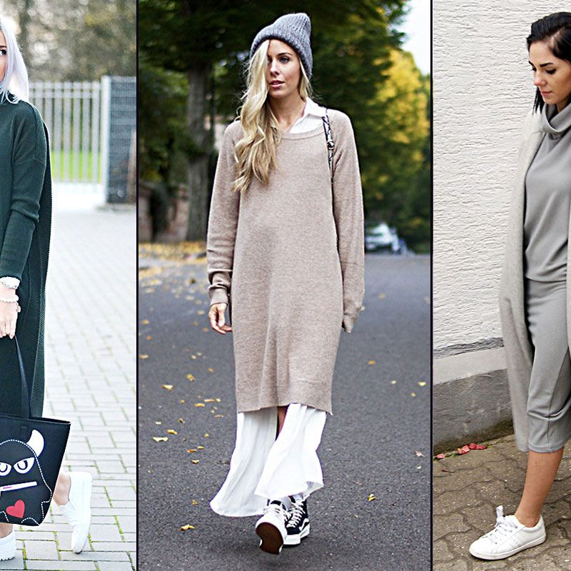 11 Ways To Wear A Cozy Sweater Dress