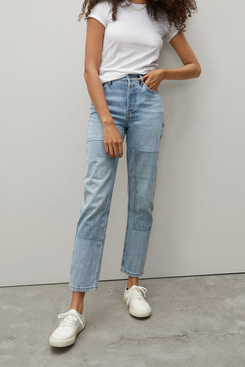 Everlane The '90s Cheeky Jean (Patchwork)