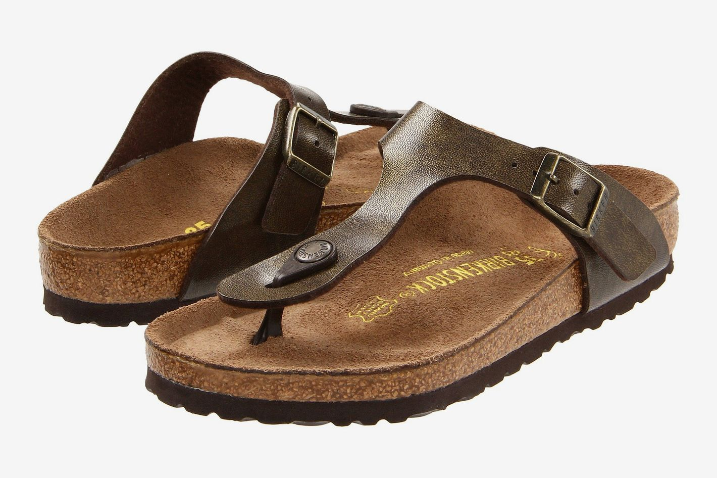 Birkenstock Gizeh Golden Brown