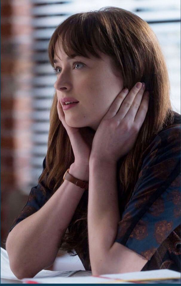 Ana in 50 shades of grey movie