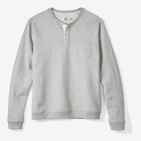 Flint and Tinder Henley Sweatshirt