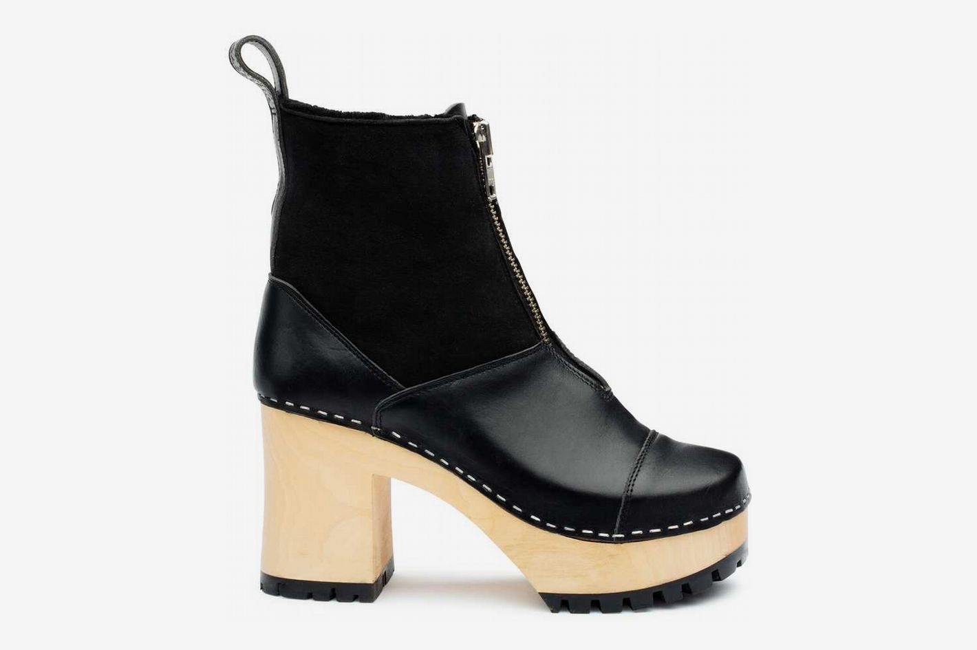 Grunge Boot Shearling