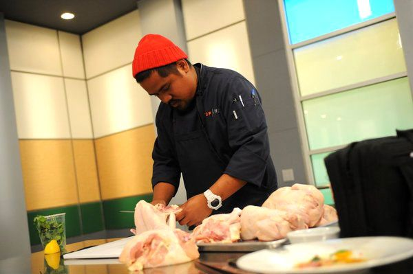 TOP CHEF -- Episode 1012 -- Pictured: Sheldon Simeon