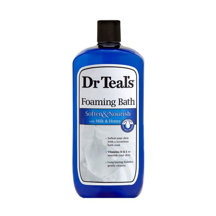 Dr. Teal's Foaming Bath.