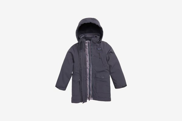 Patagonia Tres Water Repellent 3-in-1 Down Parka (Little Girls & Big Girls)