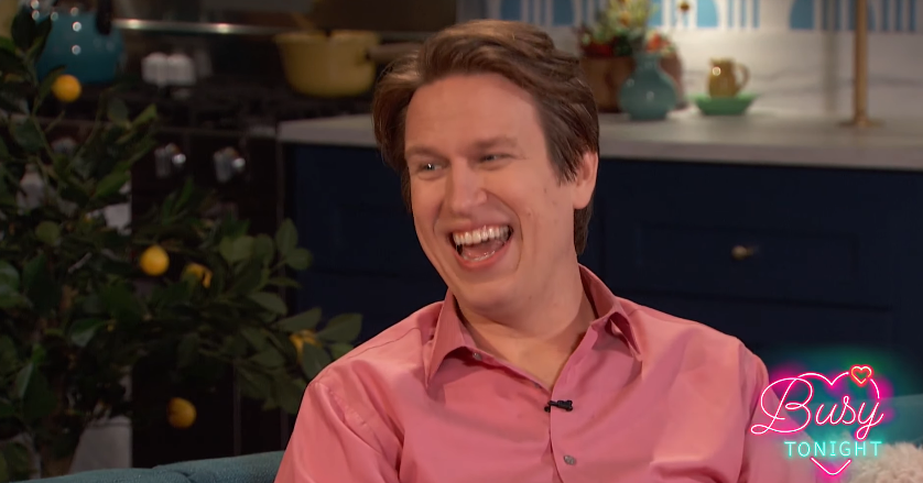 Watch Pete Holmes Talk About Louis C.K. on Busy Tonight