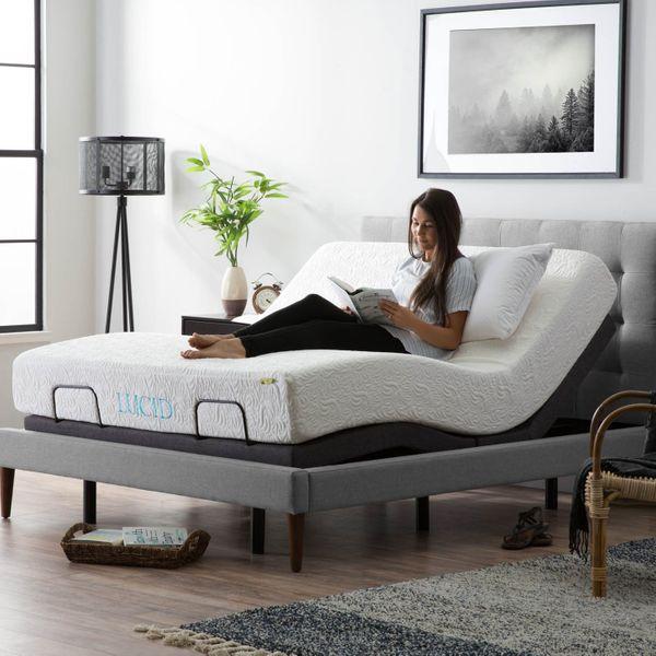 Lucid L300 Adjustable Bed Base — Queen
