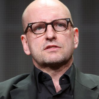 BEVERLY HILLS, CA - JULY 10: Director Steven Soderbergh speaks onstage at the