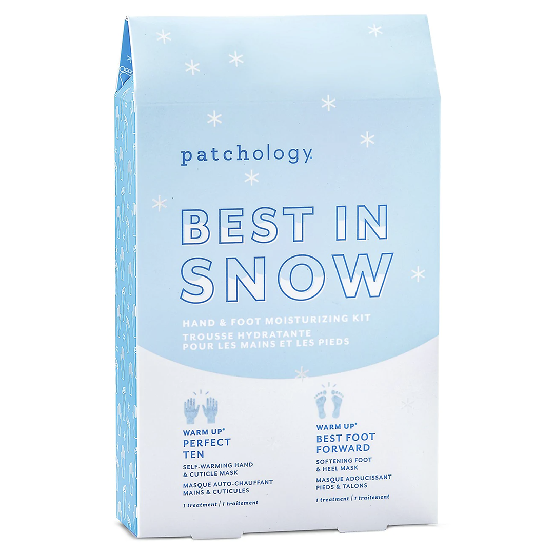 Patchology Best In Snow Hand & Foot Moisturizing Mask Kit