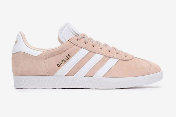 Adidas Originals Gazelle Leather-trimmed Suede Sneakers