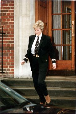Diana and the tie.