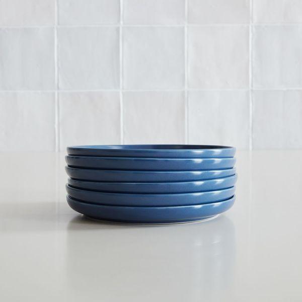West Elm Coupe Stoneware Salad Plates (Set of 6)