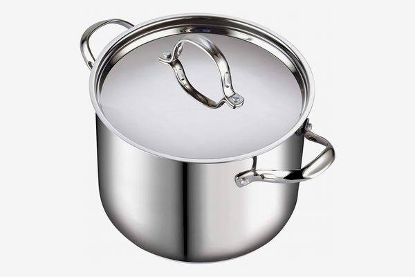 Cooks Standard Quart Classic Stainless Steel Stockpot with Lid, 12-QT