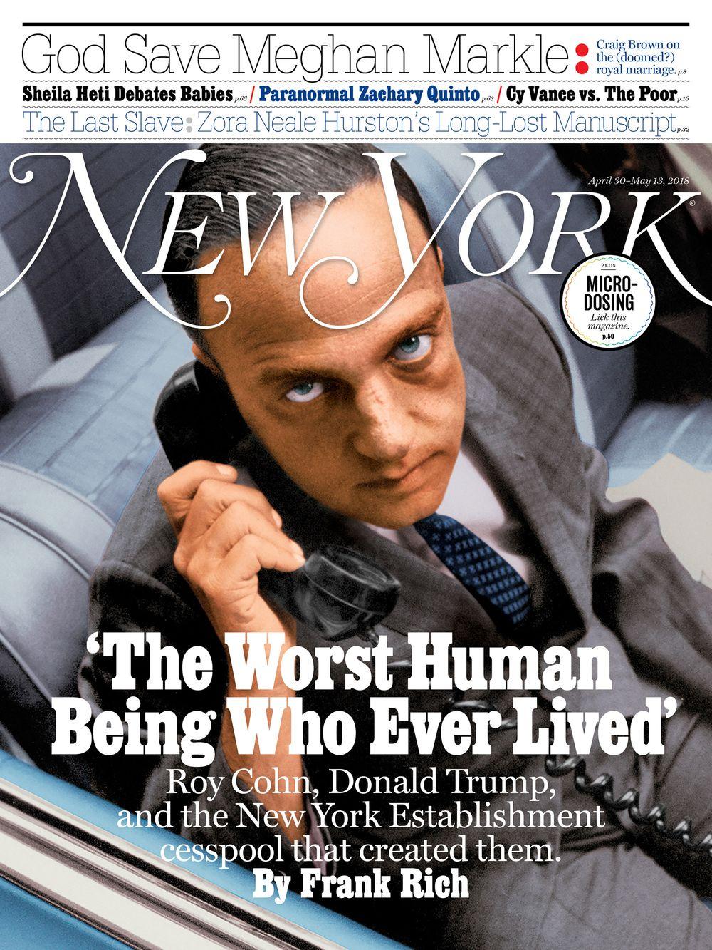 New York Magazine: 2018 Issues