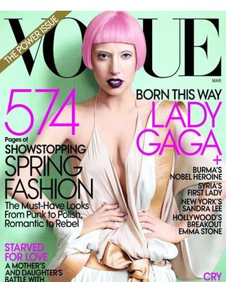 Lady Gaga covers Vogue