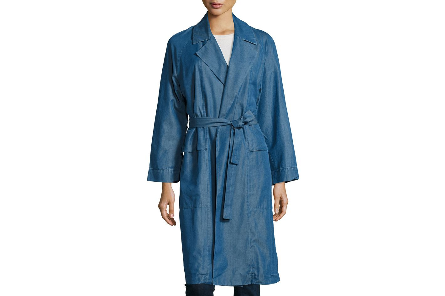 MIH Carmel Chambray Trench Coat