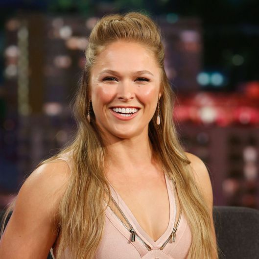 Ronda Rousey Goes To Marine Corps Ball Vulture