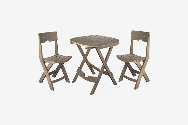 Adams Manufacturing Quik-Fold Café Set