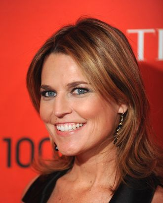 Journalist Savannah Guthrie attends the TIME 100 Gala celebrating TIME'S 100 Most Influential People In The World at Jazz at Lincoln Center on April 24, 2012 in New York City.