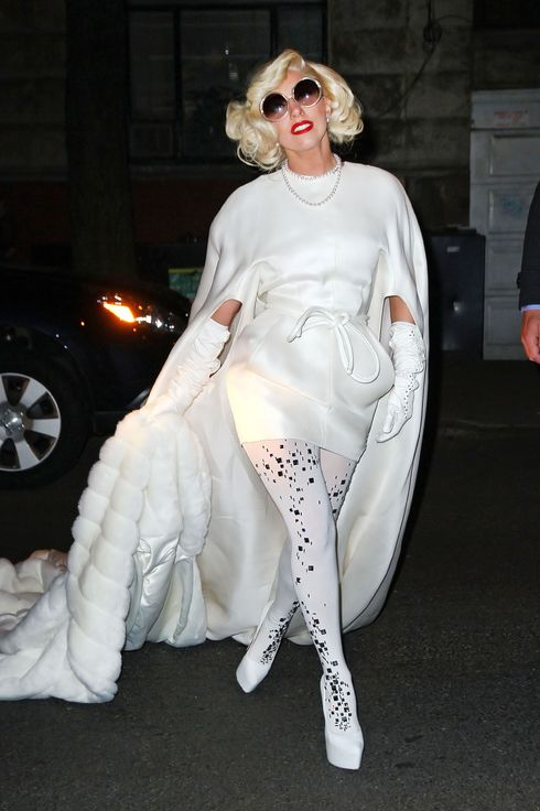 "Celebrities arrive at a NYE party at Lady Gaga's father's new restaurant Joanne in NYC. Ashley Tisdale with a mystery man, Ryan Seacrest, Julianne Hough, Derek Hough and Jenny McCarthy were among the celebrities that attended the party. Lady Gaga and her father originally invested in the Upper West Side restaurant originally named Vince & Eddies. The restaurant's name, Joanne, is the name of Joseph's sister who died when she was 19 and also the middle name of his famous daughter. It is also being reported that Art Smith, who has worked with Oprah and appeared on ""Top Chef Masters"" has signed on as chef.<P>Pictured: Lady Gaga<P><B>Ref: SPL346803  010112  </B><BR/>Picture by: GTS / Splash News<BR/></P><P><B>Splash News and Pictures</B><BR/>Los Angeles:	310-821-2666<BR/>New York:	212-619-2666<BR/>London:	870-934-2666<BR/>photodesk@splashnews.com<BR/></P>"