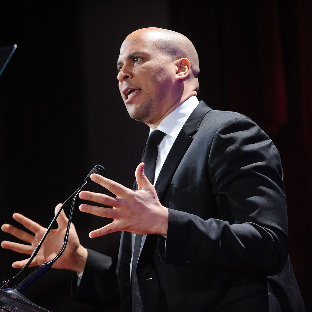 Cory Booker attends The 2013 Greater New York Human Rights Campaign Gala  at The Waldorf=Astoria on February 2, 2013 in New York City.