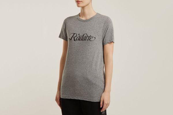 Rodarte Logo-Print T-shirt