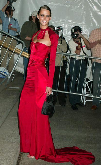 Photo 13 from Carmen Kass's Met Ball Dress