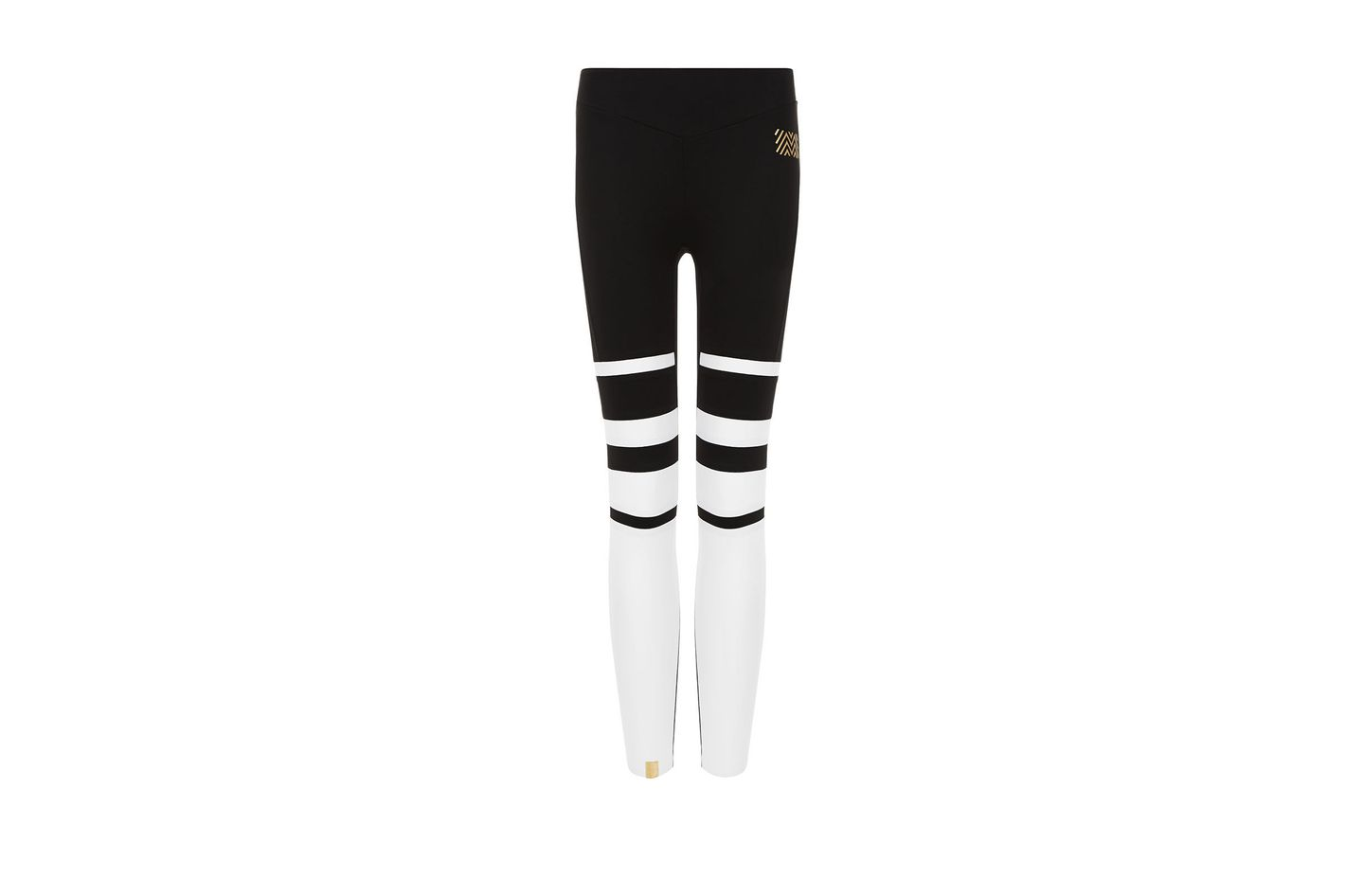 Monreal Black Stripe Gradation Leggings