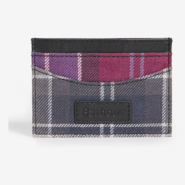 Barbour Mixed Tartan Card Holder