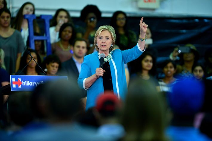 Hillary Clinton Speaks At Broward College