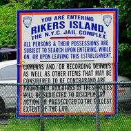 A view of the entrance to the Rikers Island penitentiary complex is seen on May 17, 2011 where IMF head Dominique Strauss-Kahn is being held in New York. The grand jury deciding whether or not to send Strauss-Kahn to trial has until May 20th to decide. In the meantime, Strauss-Kahn, accused of attempting to rape a hotel maid, remains incarcerated without bail because a judge deemed him liable to attempt escape to France, which does not extradite citizens to the United States. AFP PHOTO/Emmanuel Dunand (Photo credit should read EMMANUEL DUNAND/AFP/Getty Images)