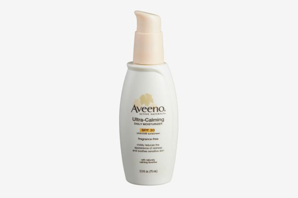Aveeno Ultra-Calming Daily Fragrance-Free Moisturizer for Sensitive Skin with SPF 30