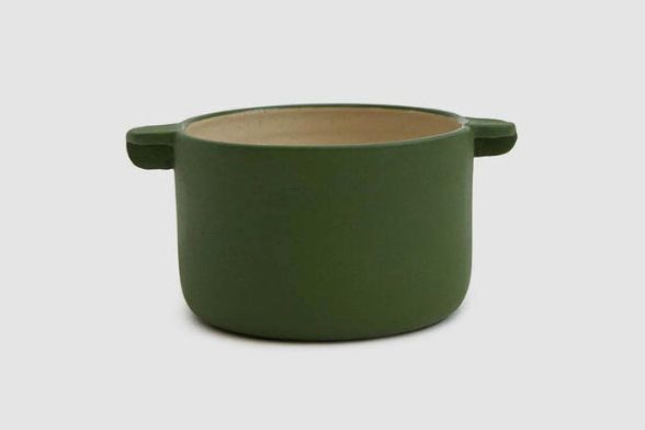 Workaday Handmade Small Workaday Casserole in Green