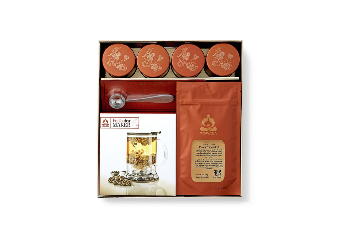 Teavana Artisanal Collection Brewing Kit