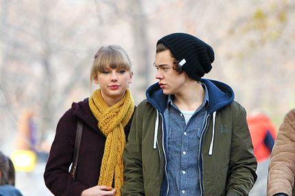 Taylor Swift and Harry Styles in NYC's Central Park and at the Central Park Zoo.