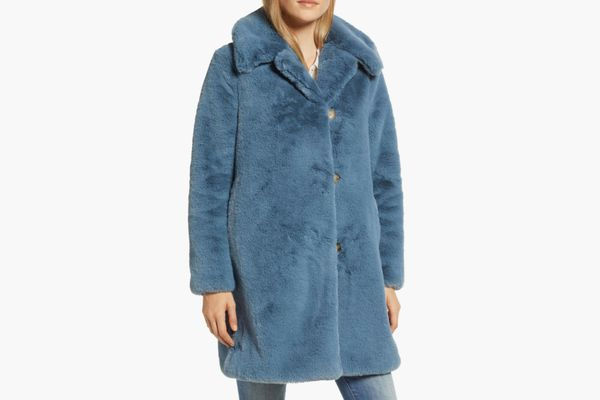 J. Crew Faux Fur Coat