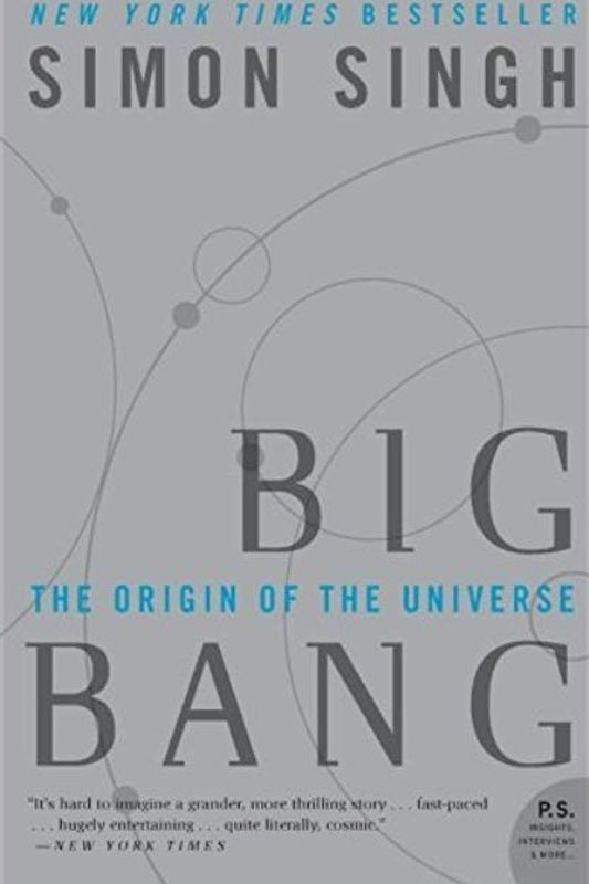 <em>Big Bang: The Origin of the Universe </em>by Simon Singh