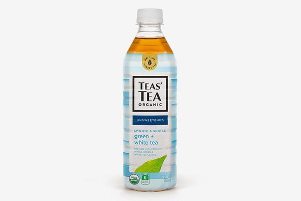 Teas' Tea Unsweetened Green White Tea, 12 Bottles