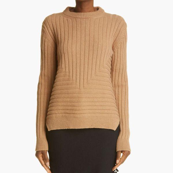 Sansovino 6 Ribbed Cashmere Crewneck Sweater