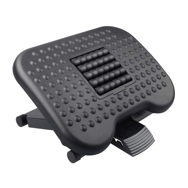 HUANUO Adjustable Foot Rest with Massage Texture and Roller,