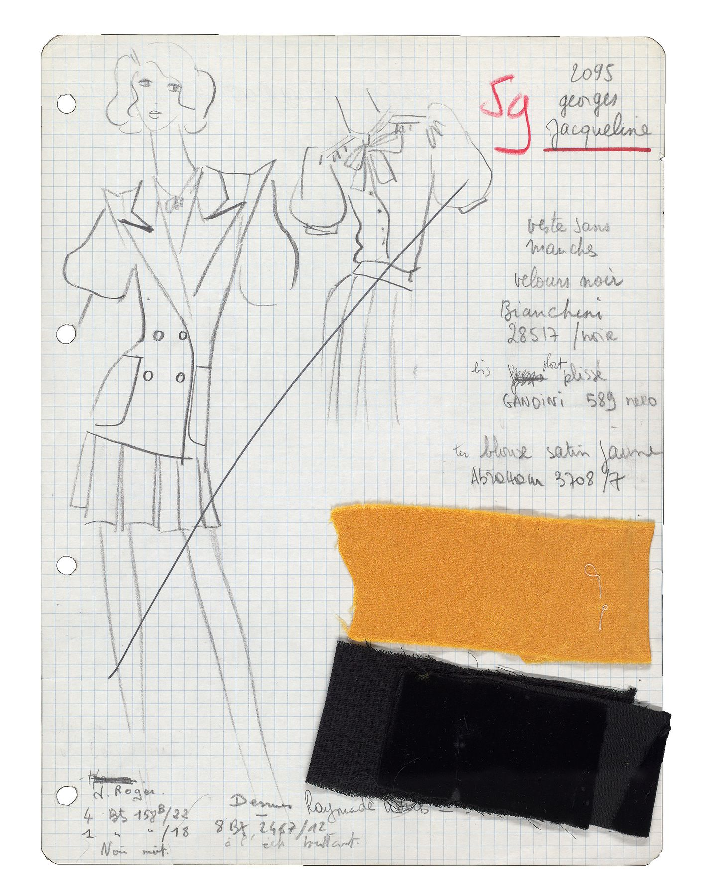 7d34a3a70e1b See Saint Laurent s Sketches From His Scandal Collection