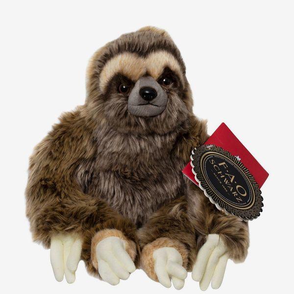 FAO Schwarz Toy Plush Sloth