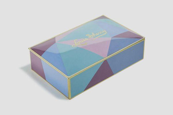Louis Sherry Miles Redd Cubist 12-Piece Chocolate Truffle Tin