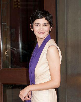 Frenchwoman Audrey Tautou.